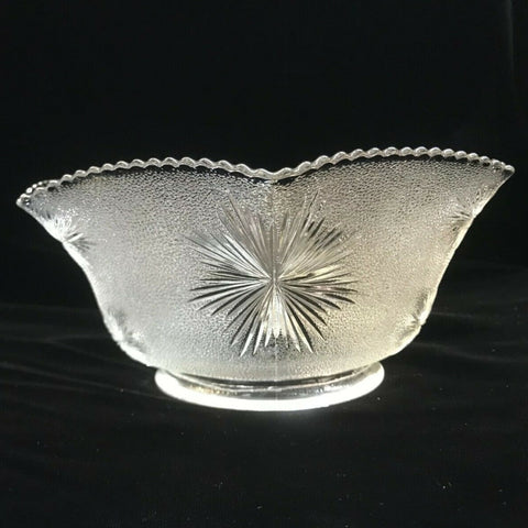 "SSG14 Vintage Victorian Glass Shade, 4"" Fitter"