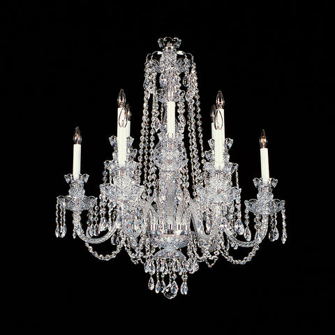 Crystal Chandelier Raleigh with Swarovski