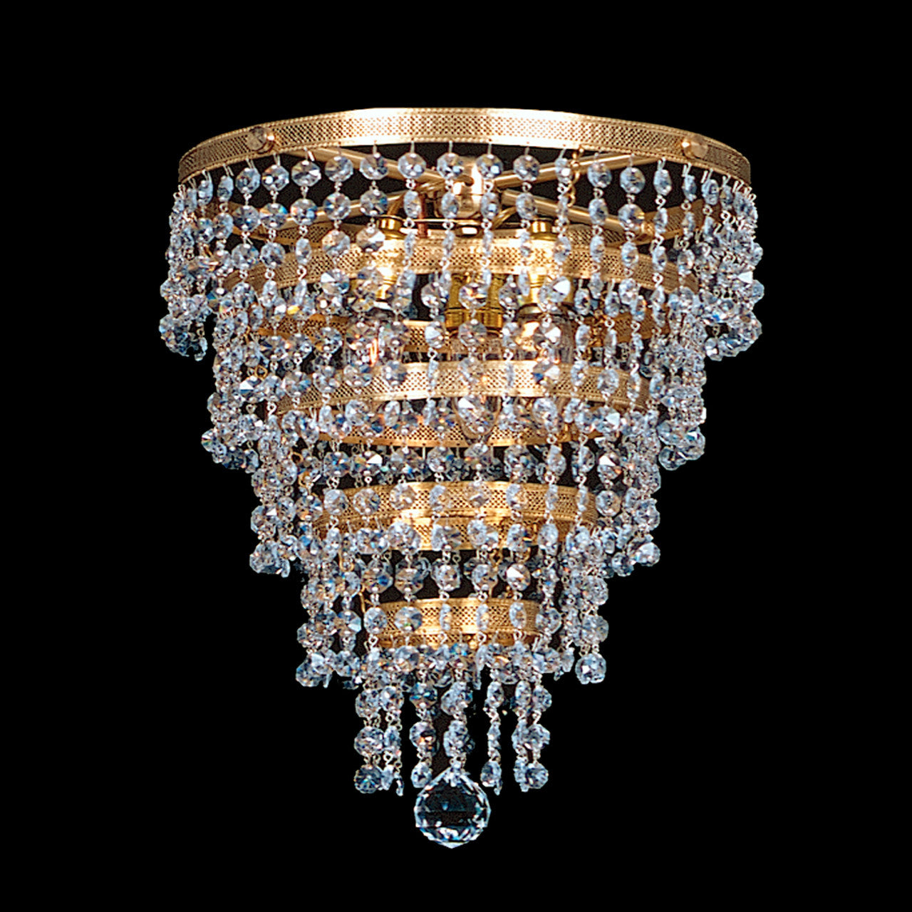 chandeliers bronze chandelier wiring comp free shippin usa prism vintage crystal rare murano swarovski pin