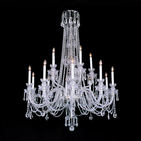 Crystal Chandelier William with Swarovski