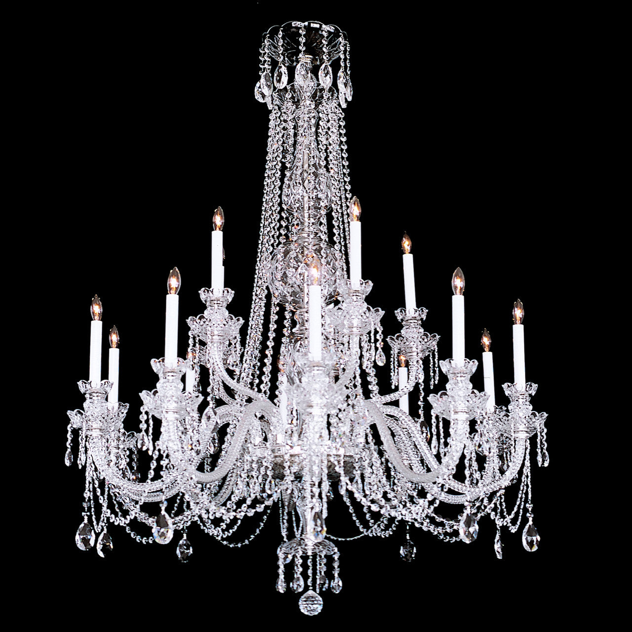 Swarovski Crystal Dollhouse Chandelier: 15 Light Crystal Chandelier With Swarovski