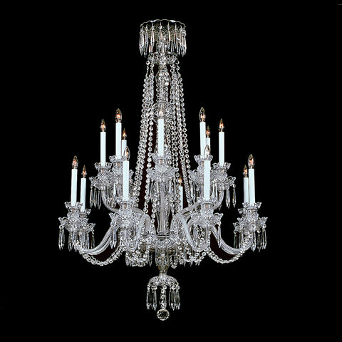 16 light Crystal Chandelier Windsor with classic crystal