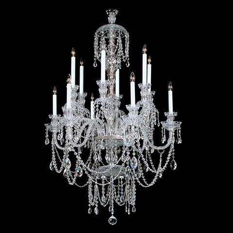 Crystal Chandelier Winterking with Swarovski