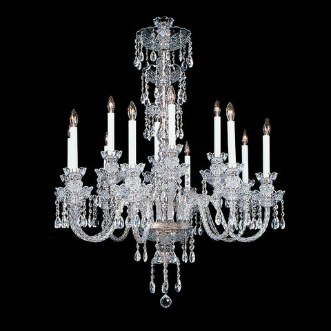 12 light Crystal Chandelier Elizabeth with Swarovski