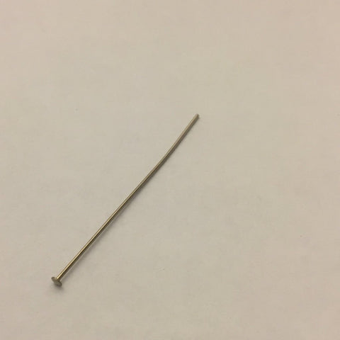 "Head Pin - 2"" - Chrome - 2nd Quality - Pack of 100"