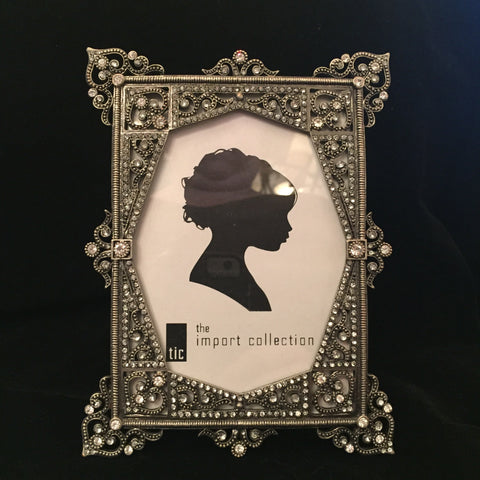 Crystal Accented Picture Frame - 3.5 x 5