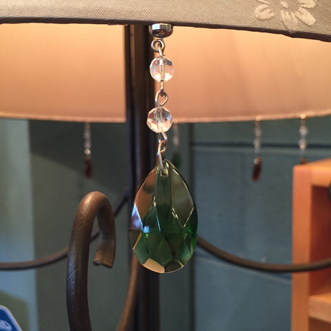 Magnetic Charm - Emerald Almond - Set of 6