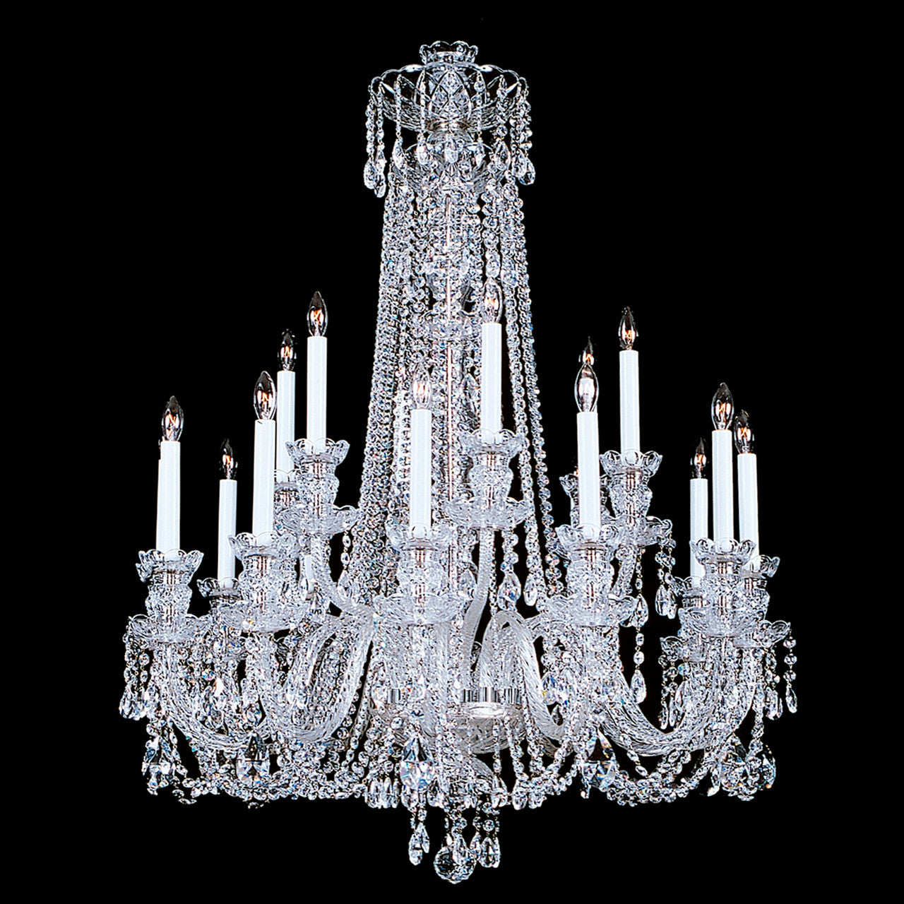 click trimmed enlarge chandeliers productdetail swarovski chandelier crystal to gallery