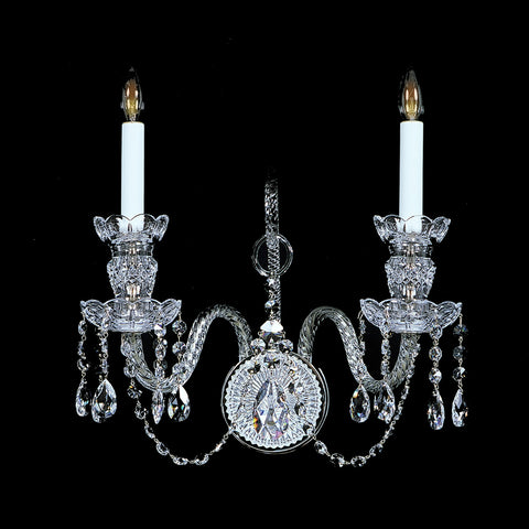 Crystal Sconce 2SF with Swarovski