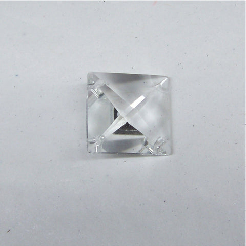 4 Hole Center  Crystal Jewel