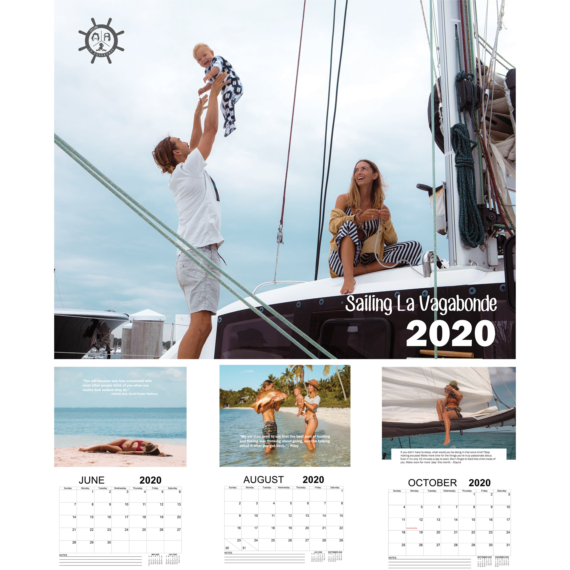 SLV 2020 Wall Calendar *very few left*