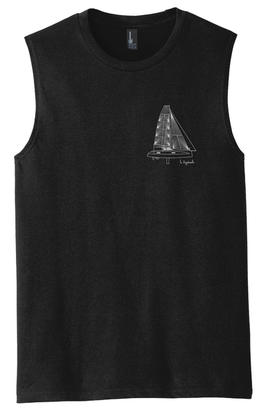 Mens Blueprint Muscle Tee