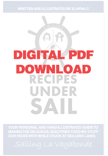 Recipe's Under Sail *Digital PDF*