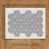 Grid Pattern Stencil Technical