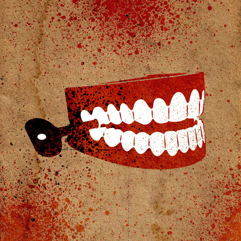 Chattering Teeth Stencil