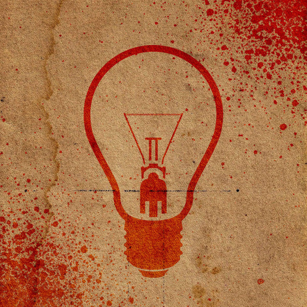 Lightbulb Stencil