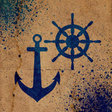 Nautical Anchor Stencil