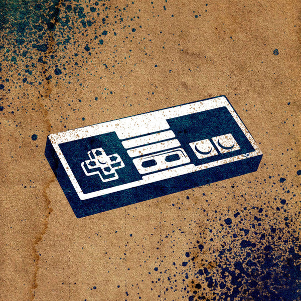 Video Game Controller Stencil