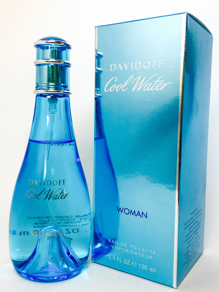 Davidoff Cool Water Woman Eau de Toilette für Damen (EDT)