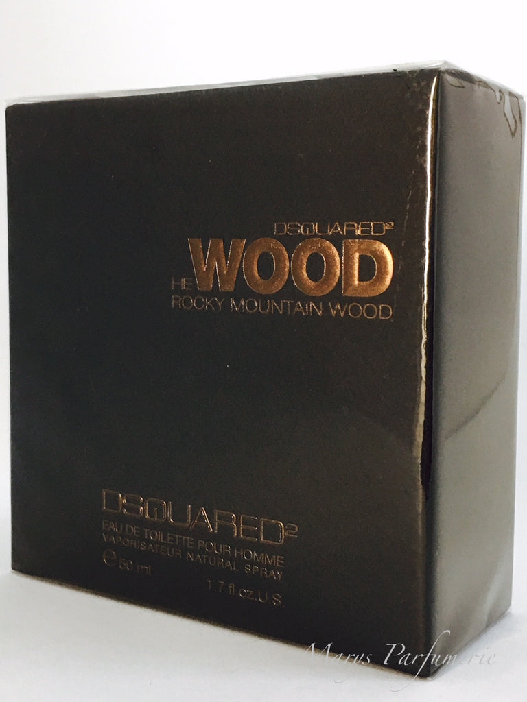 Dsquared² He Wood Rocky Mountain Eau de Toilette für Herren (EDT)