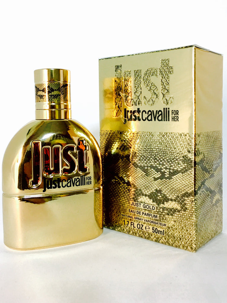Roberto Cavalli Just Cavalli Gold for Her Eau de Parfum für Damen (EDP)