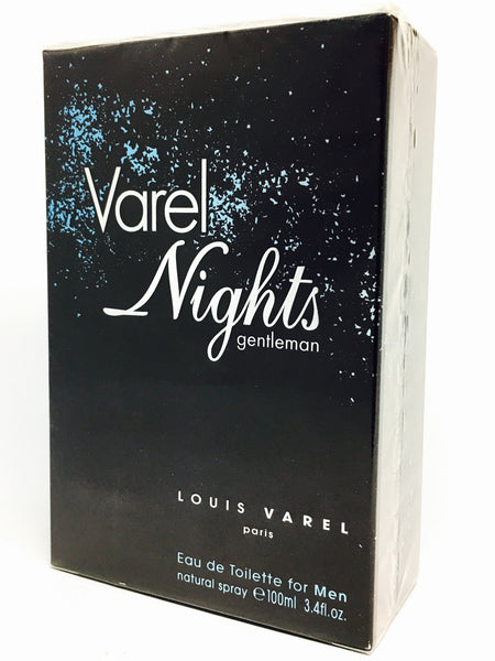 Louis Varel Nights Gentelman Eau de Toilette für Herren (EDT)