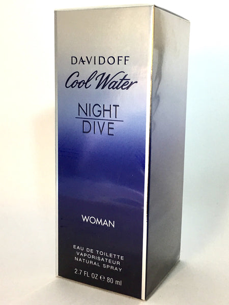 Davidoff Cool Water Night Dive Eau de Toilette für Damen (EDT)