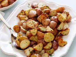 Side of Garlic Herb Roasted Redskin Potatoes
