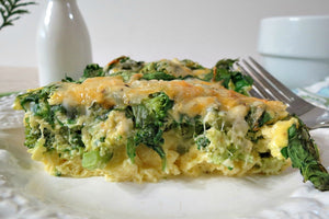 (Wednesday) Broccoli Cheddar Egg Bake
