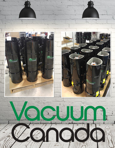 Vacuum Canada Central Vac First Batch