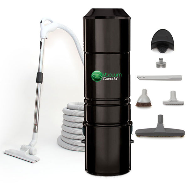 VCCV180 Central Vacuum Bare Floor Cleaning Package