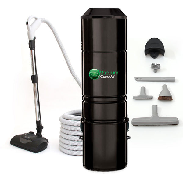 VCCV360 Central Vacuum Bare Floor Cleaning Package