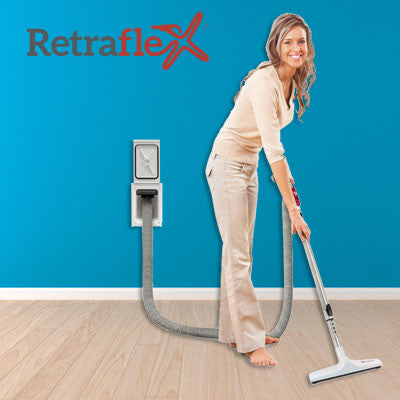 Retraflex Retractable Vacuum Hose