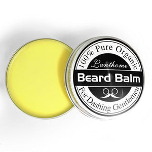 10ml Lanthome Natural Men Beard Hair Wax Balm Organic Beard Conditioner Leave in Styling Moisturizing Effect Beard Care