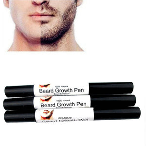 Men Beauty Face Beard whiskers moustache growth Enhance Enhancer style styling spray Shape Drawing liquid oil pen 2018 New
