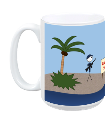 Warning: Coast! Mug