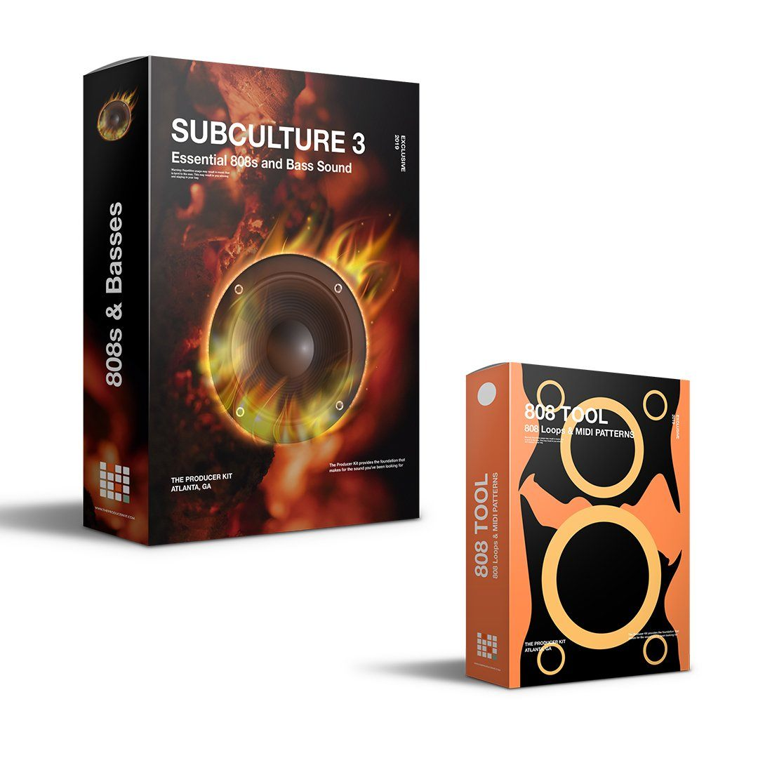 SubCulture 3 + 808 Tools - The Producer Kit