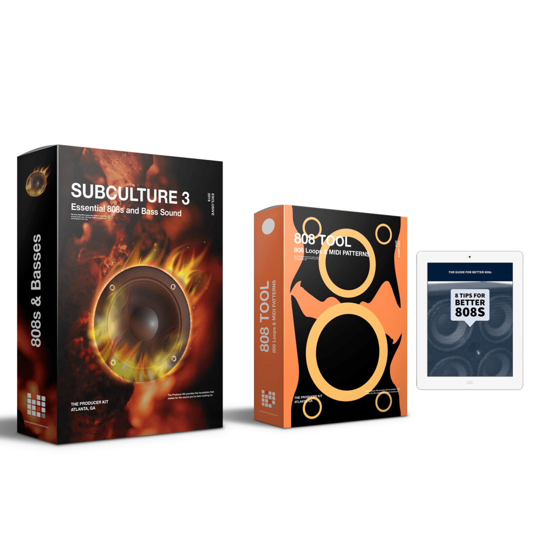 SUB CULTURE 3: 808 Sample Pack with Bonus 808 Tools + 808 eBook - The Producer Kit