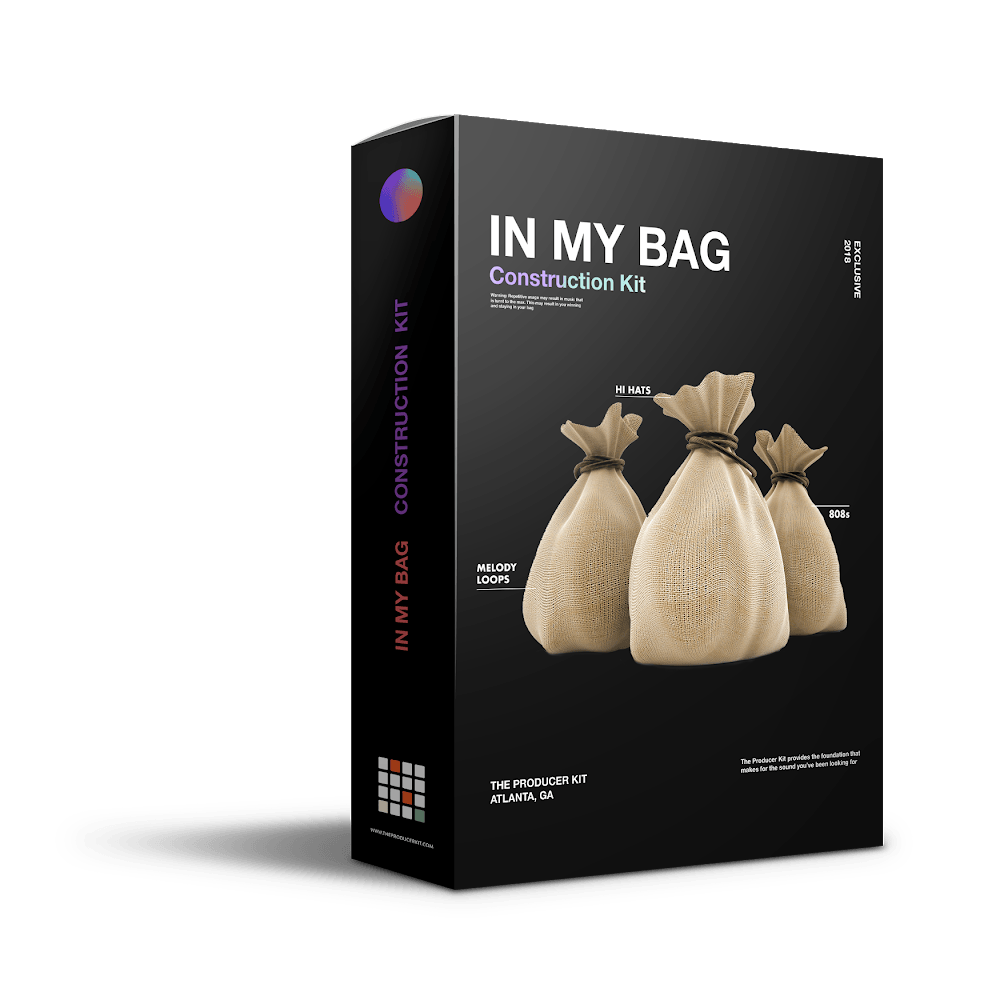 In My Bag: Trap Construction Kit - The Producer Kit