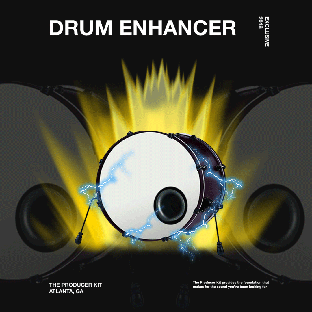 DRUM ENHANCER - The Producer Kit