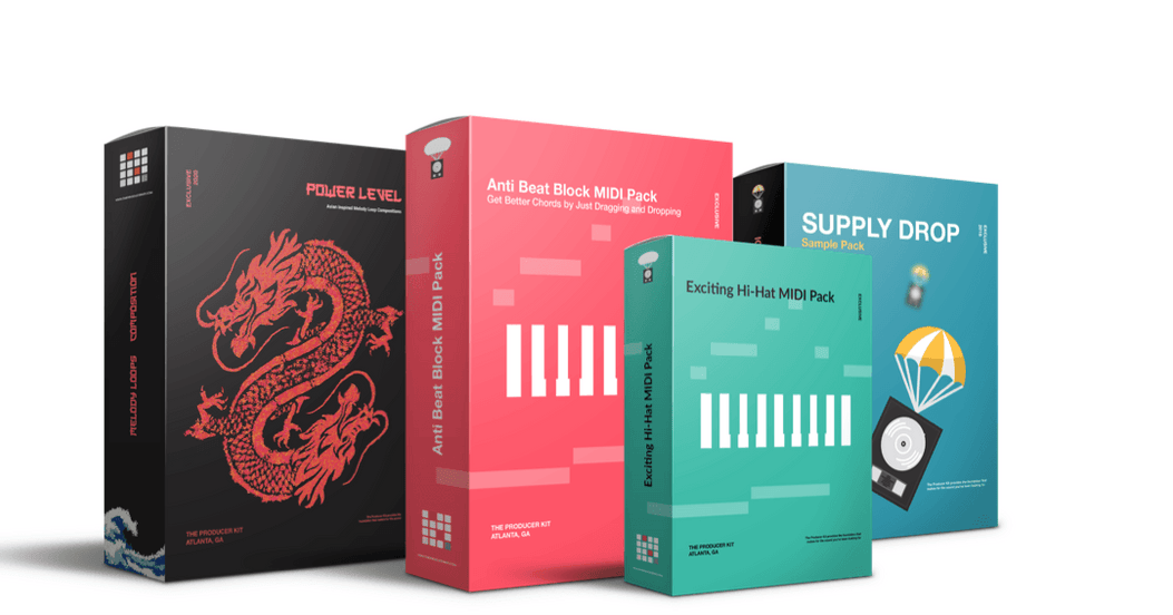 MIDI & MELODY BUNDLE - The Producer Kit