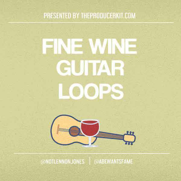 Fine Wine Guitars: Guitar Sample Loops - The Producer Kit
