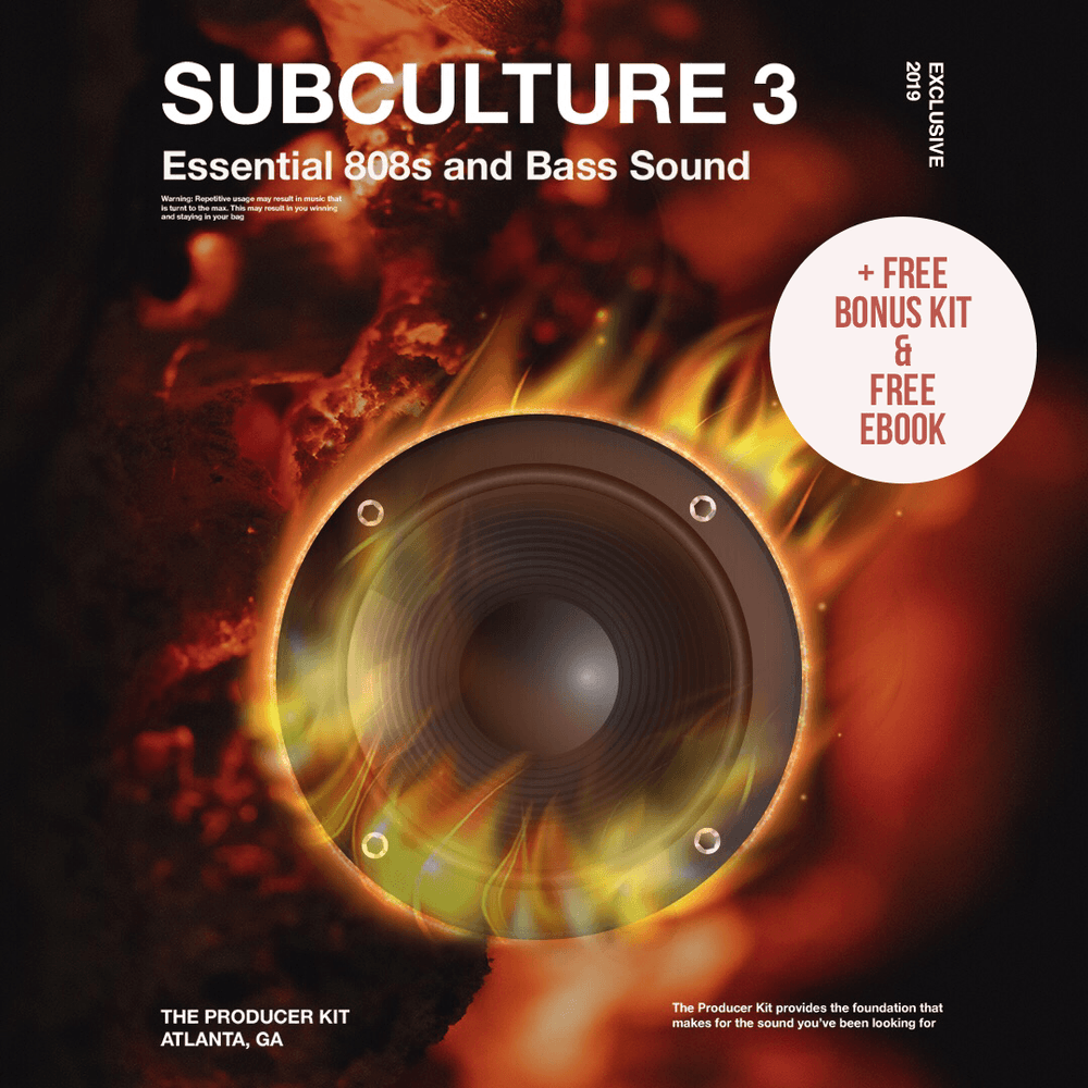 SUB CULTURE 3 Deal + 808 Tools + 808 eBook