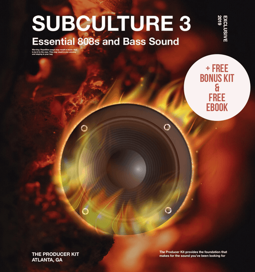 SUB CULTURE 3 Deal + 808 Tools + 808 eBook - The Producer Kit