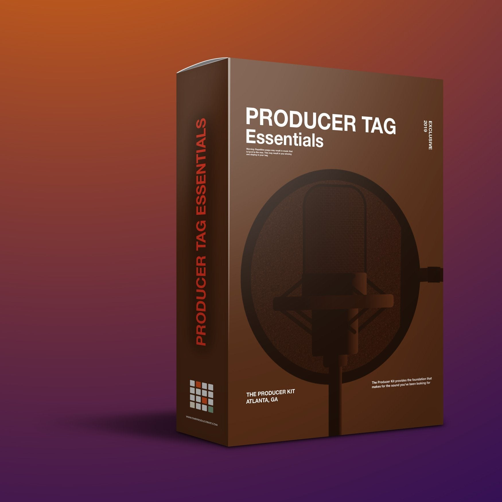 Producer Tag Essentials: Pre-made Beat Tags - The Producer Kit
