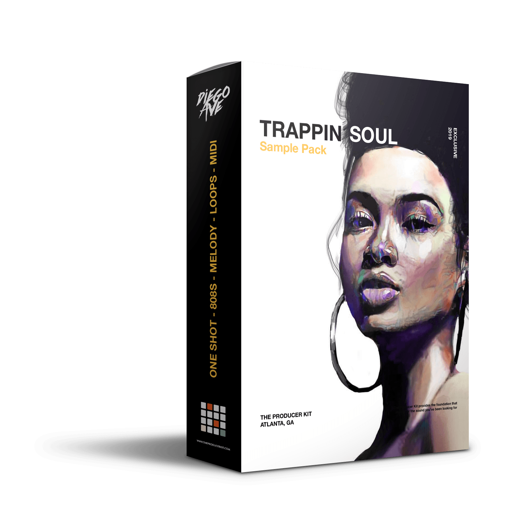 TRAPPIN SOUL: Trap / RnB Sample Pack - The Producer Kit