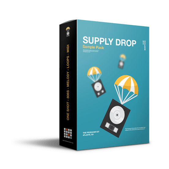 Supply Drop: Essential Sample Pack + MIDI - The Producer Kit