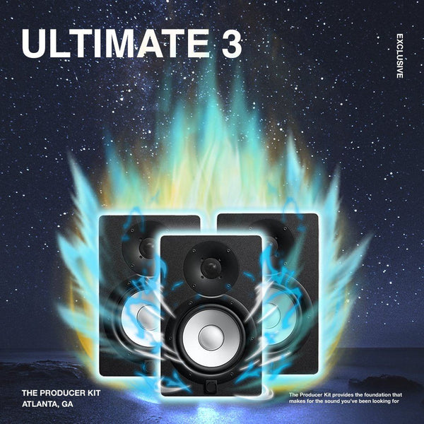 Ultimate 3: Trap Sample Pack - The Producer Kit