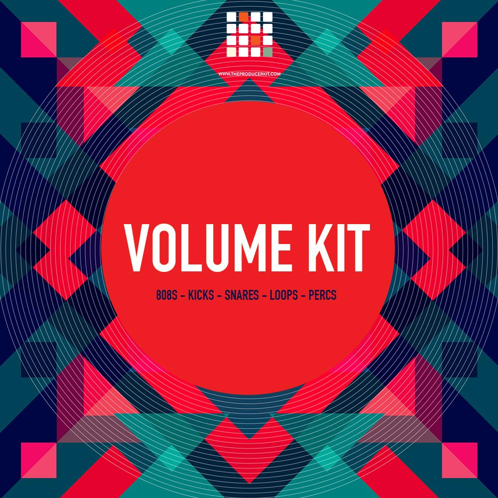 Volume Kit - All Purpose 808s, Kicks, Snares, Loops, & Percs