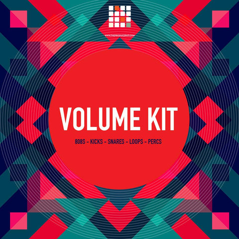 Volume Kit - All Purpose 808s, Kicks, Snares, Loops, & Percs - The Producer Kit